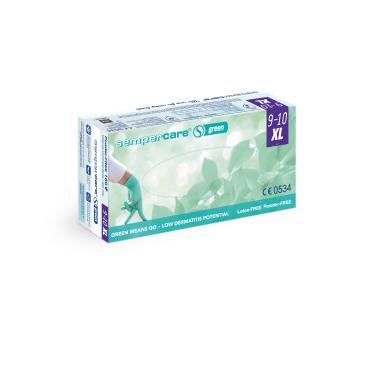 Sempercare® Green Untersuchungshandschuhe, grün, Nitril