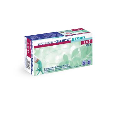 Semperguard® green Einmalhandschuhe, Nitril, Großpackung