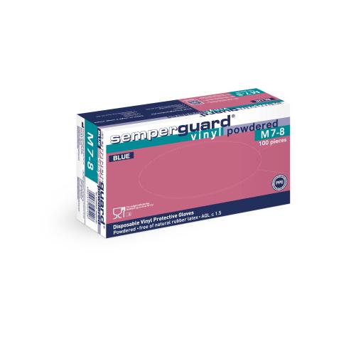 Semperguard® Vinyl -Einmalhandschuhe
