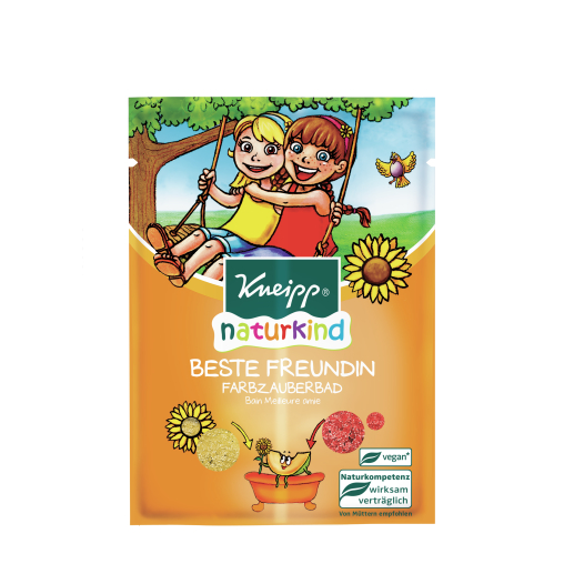 Kneipp® naturkind Farbzauberbad Beste Freundin