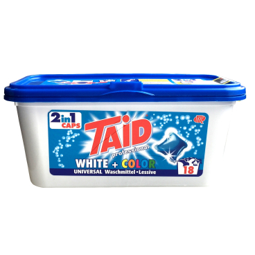 Taid white+color 2in1 Caps Waschmittel