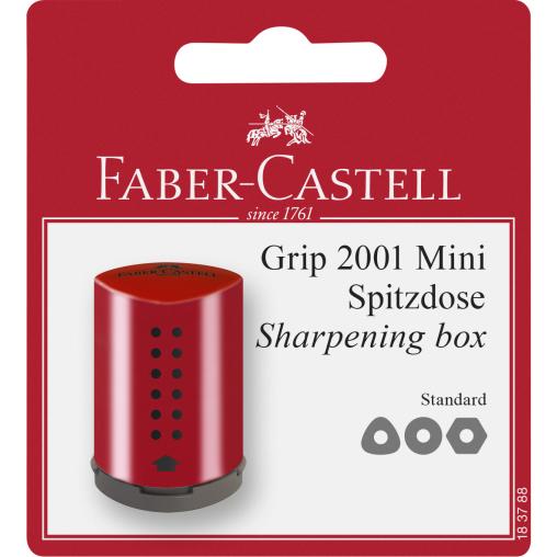 Faber-Castell Grip 2001 Mini Einfachspitzdose