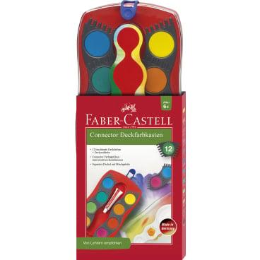 Faber-Castell Connector Farbkasten, 12 Farben