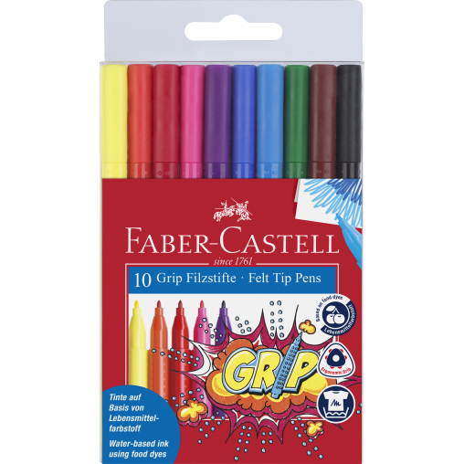 Faber-Castell Colour Grip Fasermaler
