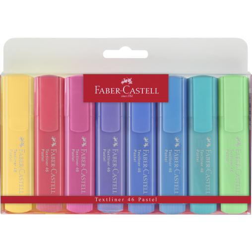 Faber-Castell Textliner 46 Pastell Textmarker, bunt