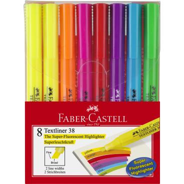 Faber-Castell Textliner 38 Textmarker, bunt