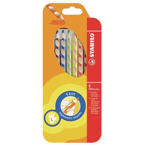 STABILO® Easycolors Buntstift, für Linkshänder