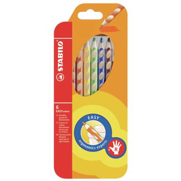 STABILO® Easycolors Buntstift, für Rechtshänder