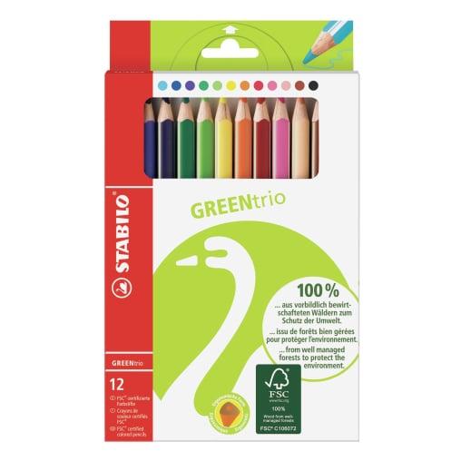 STABILO® Greentrio Buntstifte
