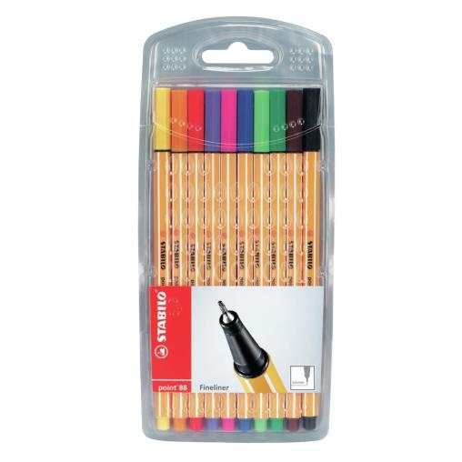 STABILO® point 88 Tintenfeinschreiber, bunt