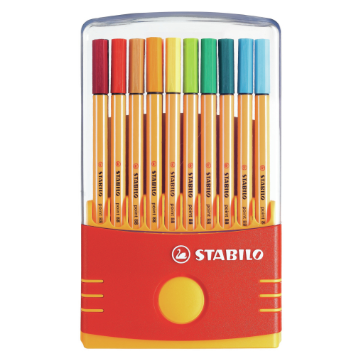 STABILO® point 88 ColorParade Fineliner