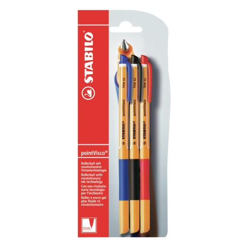 STABILO® pointVisco Tintenroller