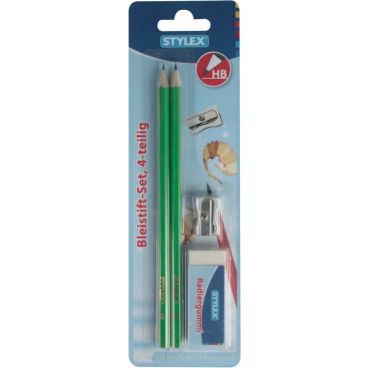 STYLEX® Bleistift-Set, 4-teilig