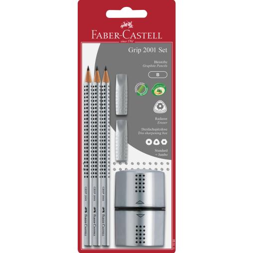 Faber-Castell Grip 2001 Schulset