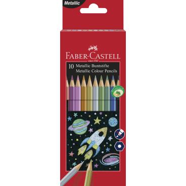 Faber-Castell Metallic Buntstifte