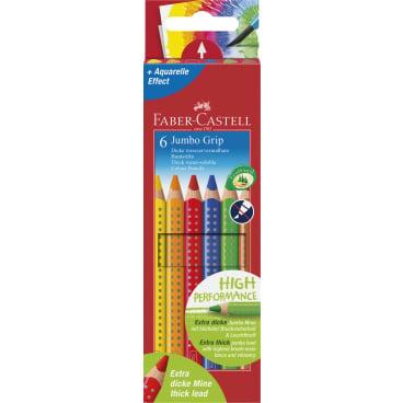 Faber-Castell Jumbo Grip Buntstifte, farbig sortiert