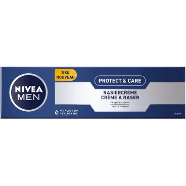 NIVEA® For Men Original Mild Rasiercreme 100 ml - Tube