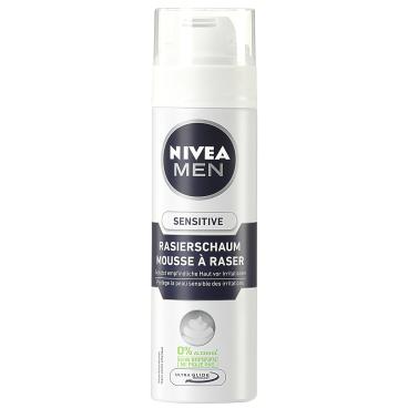 NIVEA® For Men Rasierschaum Sensitive 200 ml - Dose