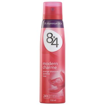 8 x 4 Deodorant Spray for Women Modern Charme, 150 ml - Dose
