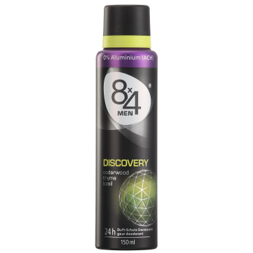 8 x 4 For Men Deodorant Spray Discovery, 150 ml - Dose