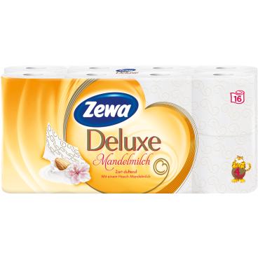 Zewa Deluxe Mandelmilch Toilettenpapier