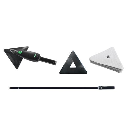 UNGER Stingray® 160 OS Oberflächenreiniger, Set mit Quikpads