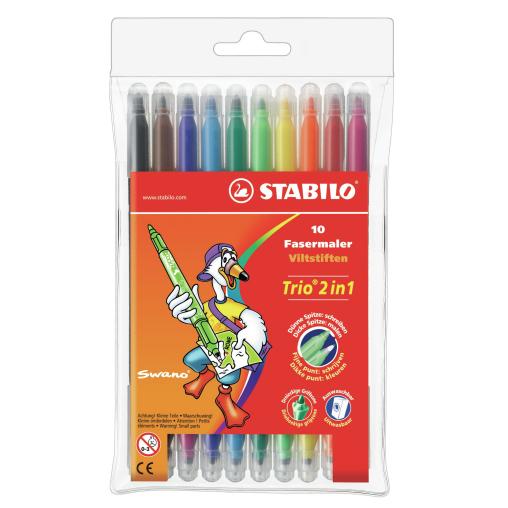 STABILO® Trio 2in1 Fasermaler