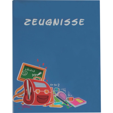 STYLEX® Zeugnismappen mit 20 Hüllen, DIN A4