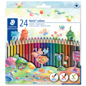 Staedtler Noris®  colour Buntstift, dreikant