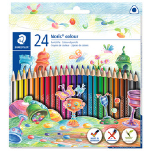 Staedtler Noris®  colour Buntstift, dreikant