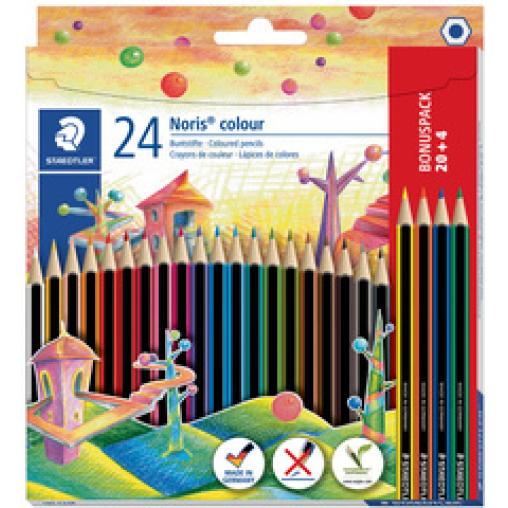 Staedtler Noris® colour Buntstift, sechskant