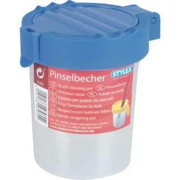 STYLEX® Pinselbecher mit Auslaufschutz