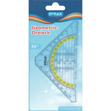 STYLEX® Geometriedreieck, mit Griff