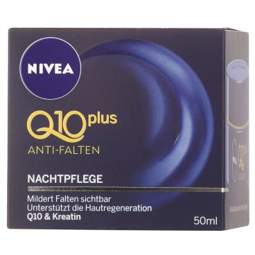 NIVEA® Face Q10 Plus Anti-Falten Nachtpflege 50 ml - Dose
