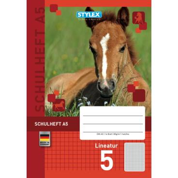 STYLEX® Schulheft, A5