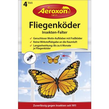 Aeroxon® Fliegenköder Insekten-Falter 1 Packung = 4 Stück