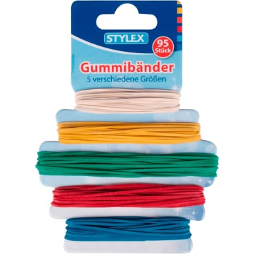 STYLEX® Gummibänder in 5 verschiedene Größen