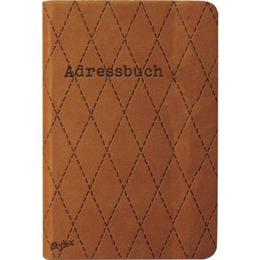 STYLEX® Adressbuch, 7,2 x 10,6 cm