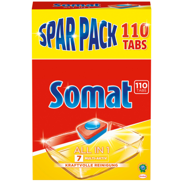 Somat 7 Tabs All in 1 Spülmaschinentabs