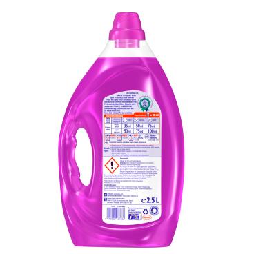 Spee ColorGel Waschmittel 2,5 Liter - Flasche für ca. 50 Waschladungen