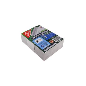 Briefumschlag, DIN C6, selbstklebend, recyclebar, weiß