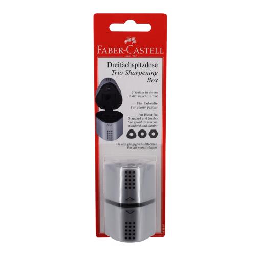 Faber-Castell Grip 2001 Dreifachspitzdose