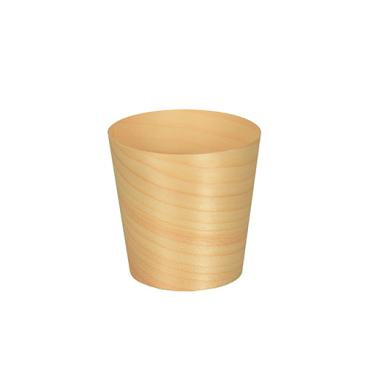 Papstar Pure Fingerfood-Schalen Holz, rund