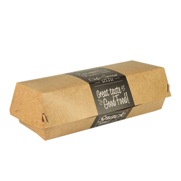 Papstar Pure Good Food Baguetteboxen, Pappe