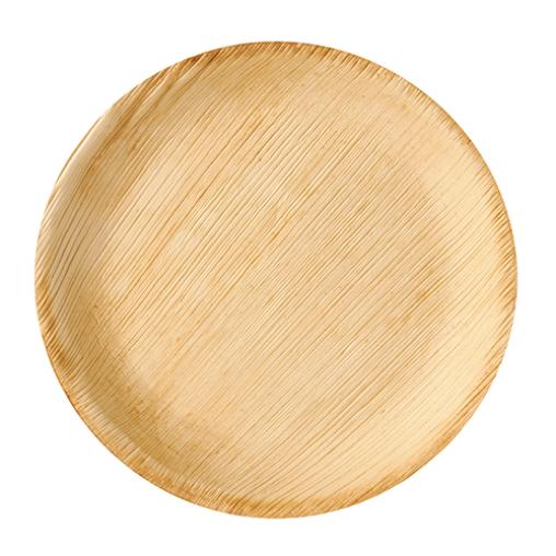 Papstar Pure Teller Palmblatt, rund