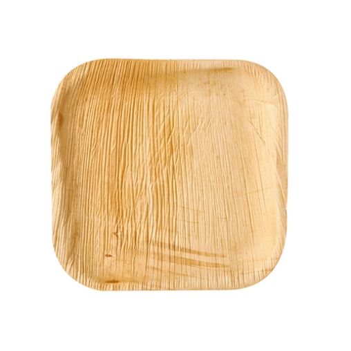 Papstar Pure Teller Palmblatt, eckig