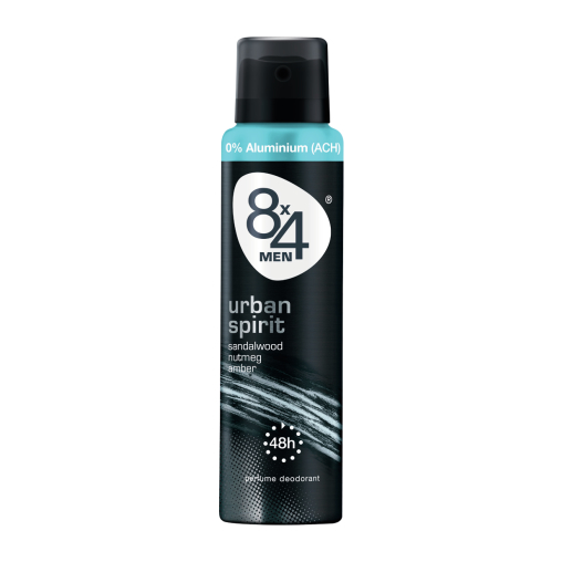 8 x 4 For Men Deodorant Spray