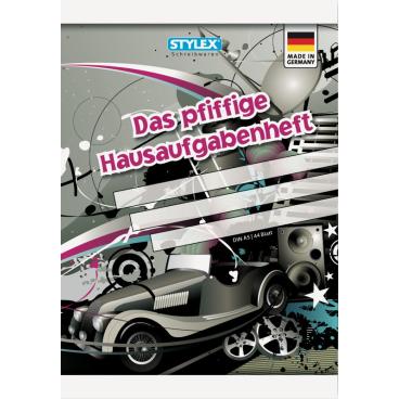 STYLEX® Das pfiffige Hausaufgabenheft, A5