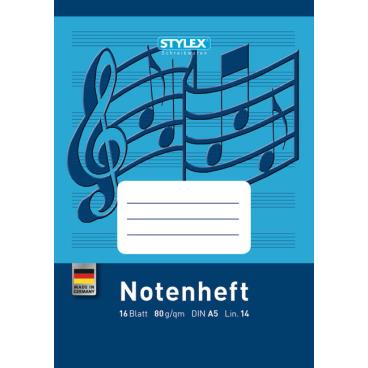 STYLEX® Notenheft, A5