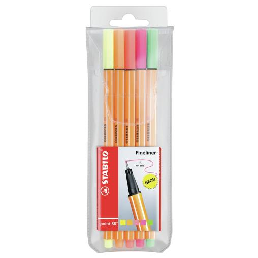 STABILO®  point 88 Tintenfeinschreiber, neon